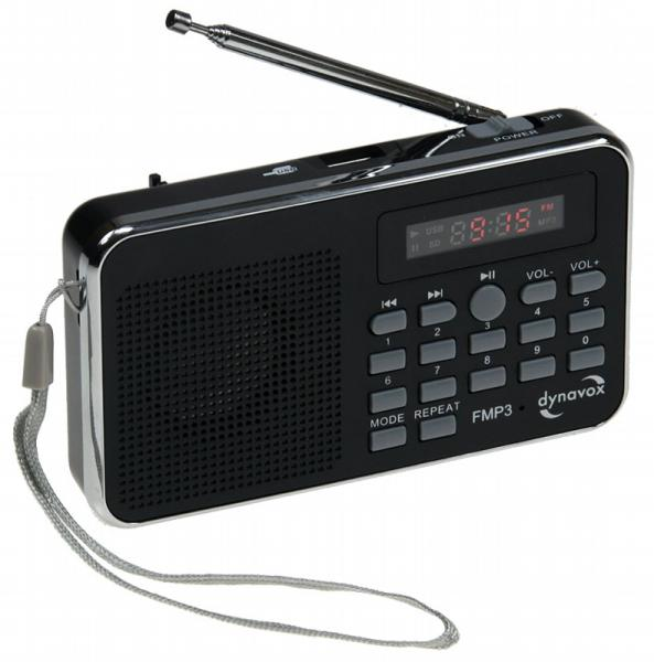 "Radio ""CT-3"" mit USB/SD-Card FM-Radio, MP3, inkl. Li-Ion Akku"